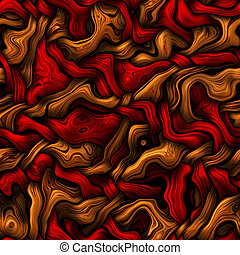 abstract wool pattern - texture of warm red and brown...
