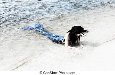 Let the Butterflies Cry - Mermaid on the Beach