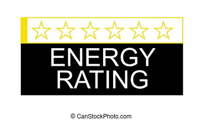 energy rating fast - The energy rating graphical concept for...