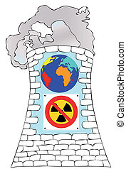 Against nuclear power for a cleaner world