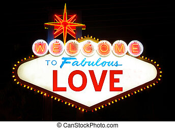 LOVE - Welcome love