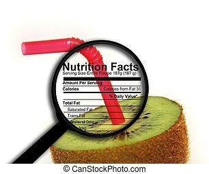 Kiwi - nutrition facts