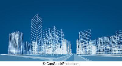 項目, 城市