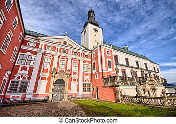 Monastery in Broumov, Czech Republic - Old monastery in...