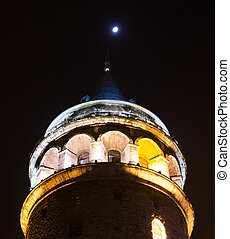 Galata Tower, in Istanbul