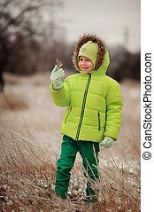 男孩, 冬天