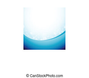 Bluish Abstract Background - Vector illustration of bluish...