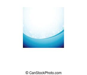 Bluish Abstract Background - Vector illustration of bluish...