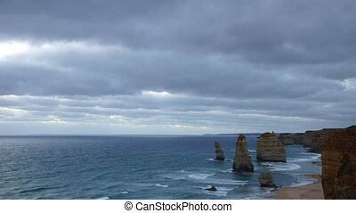 Twelve Apostels monuments - Port Campbell nation park,...