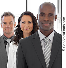 empresa / negocio, líder, equipo, Plano de fondo