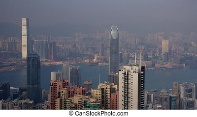 Hongkong #5 - Day panoramic time-lapse