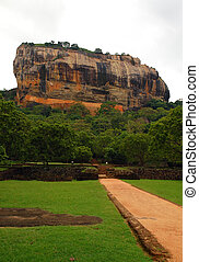 Sigiriya Rock Fortress - Rock fortress where in the 5th...