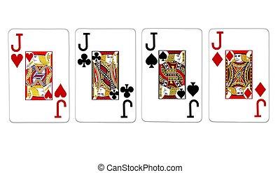 four of a kind jacks