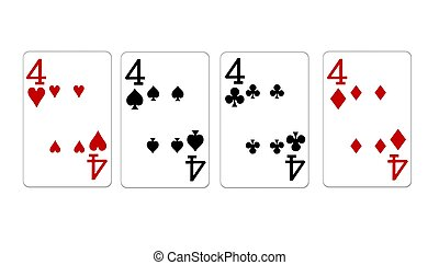 four of a kind fours