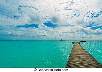 tropische,  Pier