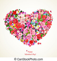 Heart of beauty floral for you design