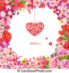 Design greeting cards for Valentine's Day