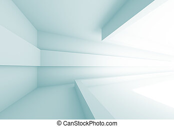 Futuristic Interior Background