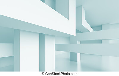 Modern Architecture Background - 3d Abstract Modern...