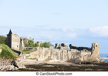 Saint Andrews Castle, Fife, Scotland