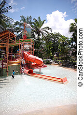 Pools and amusement. - The Pools and amusement in resort.