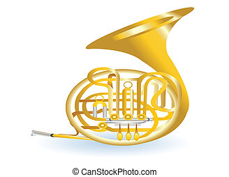 golden tuba - golden tuba illustration