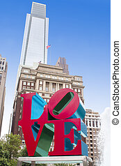 Love Park, Philadelphia, Pennsylvania, USA
