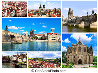 Famous places of Czech Republic - Collection - famous places...