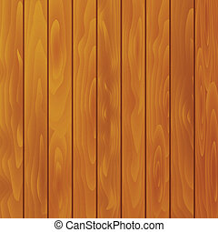 Vector textured wood background - Vector wood plank...