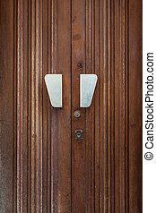 Old residential door