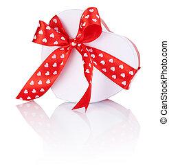 箱子, 心, 禮物, 成形, 栓, 肋骨