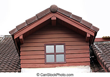 The Garret and American style house. - The Picture of Garret...