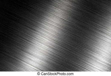 Brushed metal dark background - Abstract brushed metal dark...