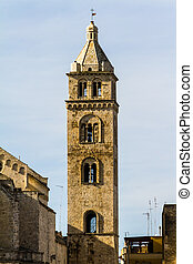 Belfry - an antique church located in Barletta, a city...