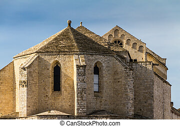 Apulian church - an antique church located in Barletta, a...
