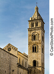 Bell Tower - an antique church located in Barletta, a city...