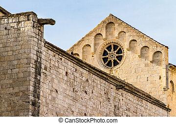 Mediterranean church - an antique church located in...