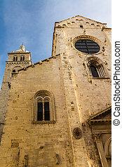 Ancient church - an antique church located in Barletta, a...
