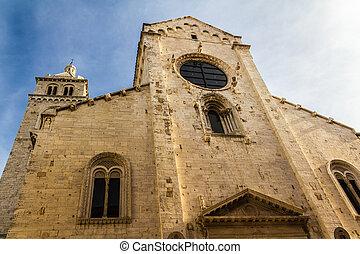 Church - an antique church located in Barletta, a city...
