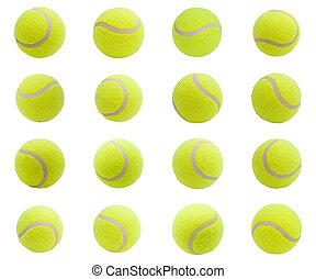 Tennis balls - Nice Tennis balls isolated on white...