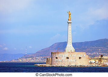 Port of Messina - Messina Port and the blessing of a golden...