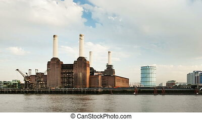 Battersea Power Station Time Lapse