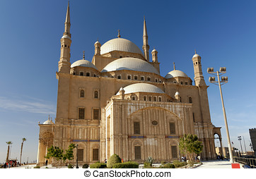 Great Mosque of Muhammad Ali in Cairo, Egypt - Great Mosque...