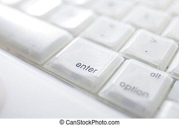 Keyboard enter