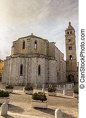 Old Church Vertical - an ancient church located in a town...