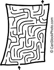 Mini maze - Creative design of mini maze