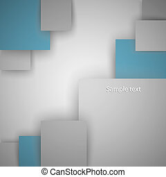 Squares vector illustration with a place for your text.It is possible to use for your business.