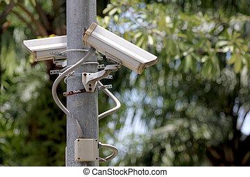 ポーランド人,  CCTV,  cameras, 力
