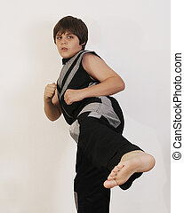 teenager Self Defense - martial art, self...