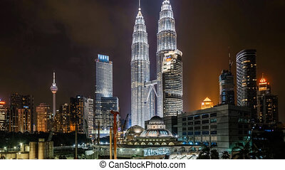 Moving Hyperlapse Kuala Lumpur - Timelapse moving hyperlapse...